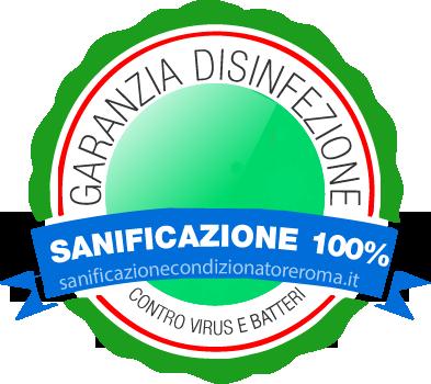 Logo Sanificazione Coronavirus Climatizzatori