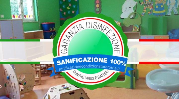 Sanificazione Condizionatori e Climatizzatori Roma - Asili Nido e Ludotecheù