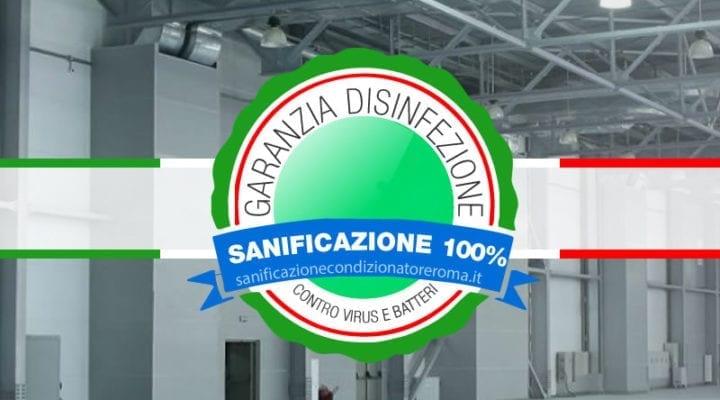 Sanificazione Condizionatori e Climatizzatori Roma - Capannoni Climatizzati