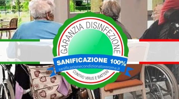 Sanificazione Condizionatori e Climatizzatori Roma - Case di Riposo e Ospizi