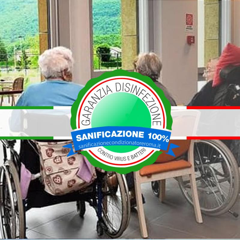 Sanificazione Condizionatori e Condizionatori Appio Latino - Case di Riposo e Ospizi