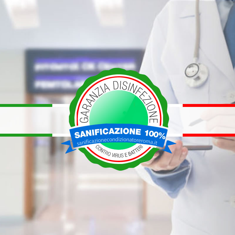 Sanificazione Condizionatori e Climatizzatori Castro Pretorio - Cliniche private e studi medici