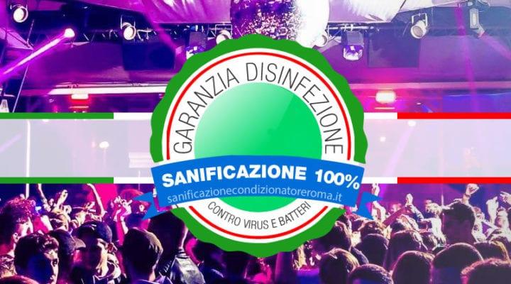 Sanificazione Condizionatori e Climatizzatori Roma - Discoteche