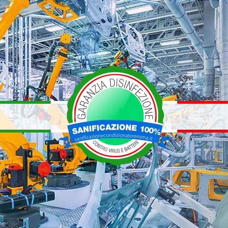 Sanificazione Condizionatori e Climatizzatori Mezzocammino - Fabbriche automatizzate