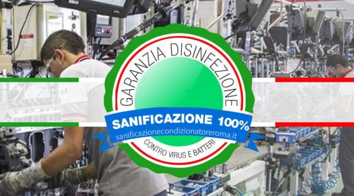 Sanificazione Condizionatori e Climatizzatori Roma - Fabbriche e Magazzini di Smistamento