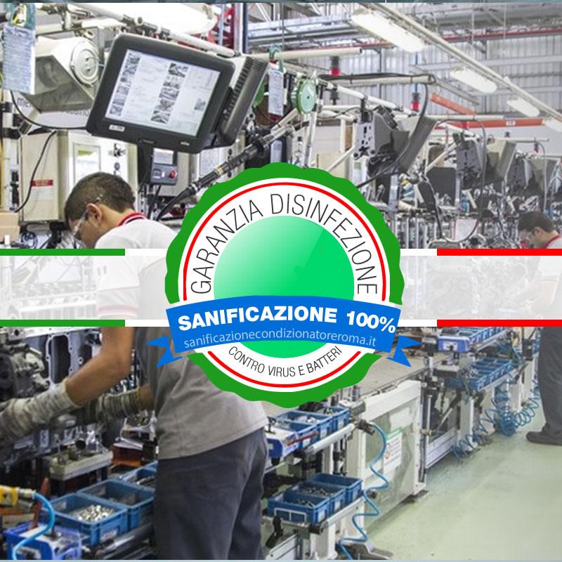 Sanificazione Condizionatori e Condizionatori Appia - Fabbriche e Magazzini di Smistamento