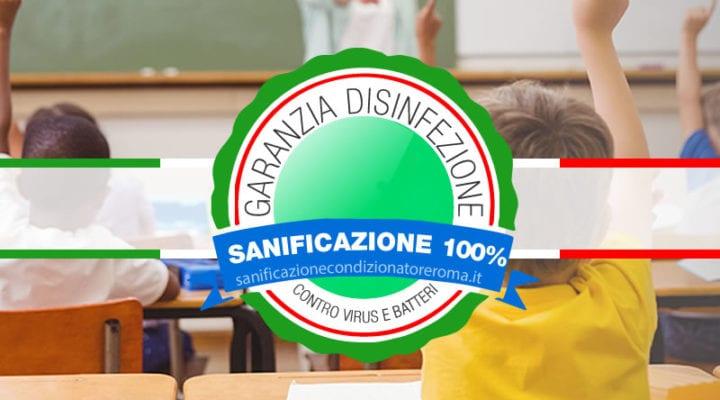 Sanificazione Condizionatori e Climatizzatori Roma - Scuole Paritarie